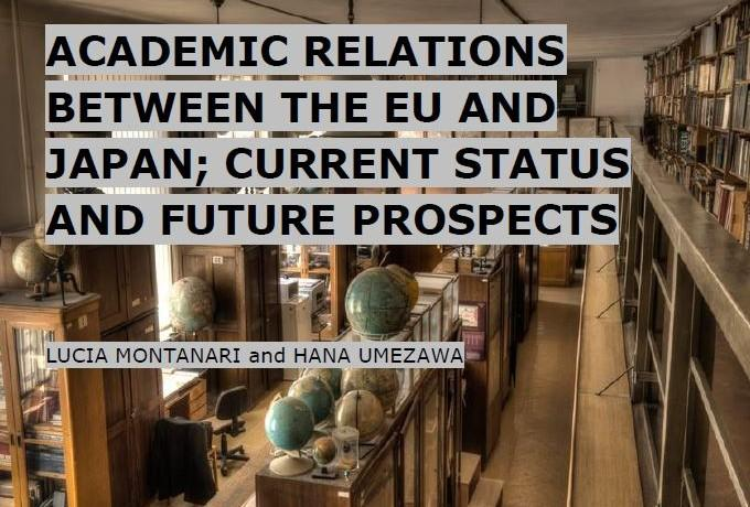 Academic Relations Between the EU and Japan: Current Status and Future Prospects (September 2014)