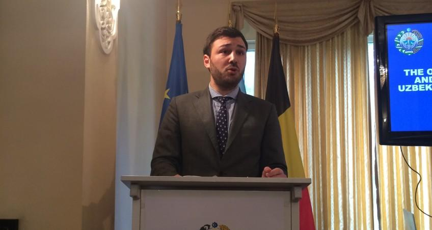 EIAS Researcher delivers speech at Embassy Uzbekistan