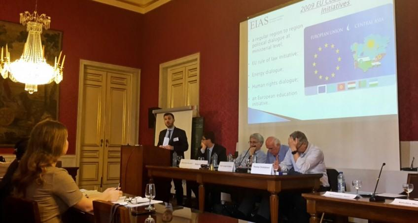 Associate Researcher Sebastiano Mori presents Paper at EUIA16 Conference