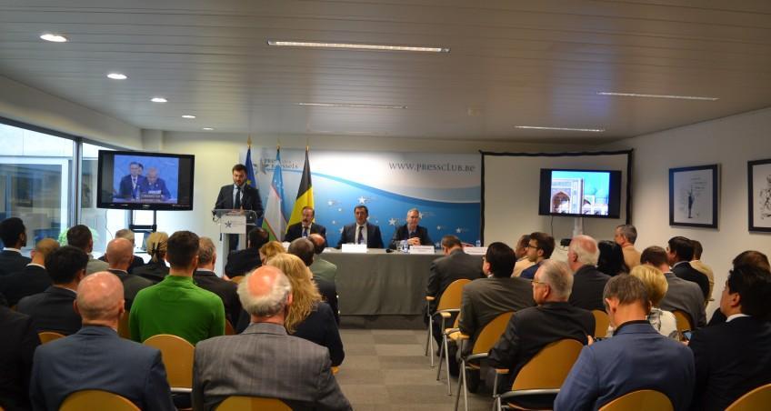 EIAS Associate Researcher Sebastiano Mori Delivers Speech on Uzbekistan's SCO Chairmanship
