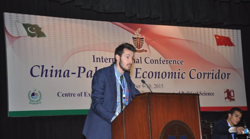 EIAS Programme Coordinator Jim Stoopman Participates in High-Level CPEC Forum