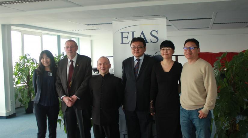 EIAS hosts roundtable on Mongolian Poetry with author Luvsandorj Ulziitugs