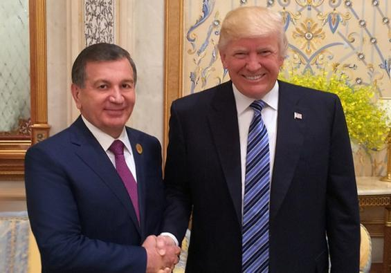 Note of Comment on President Mirziyoyev's Visit to Washington
