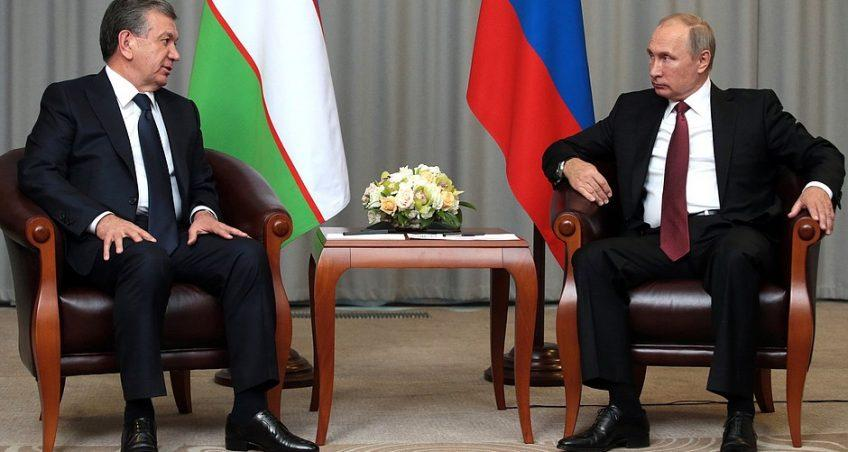 Note of Comment on President Putin's Visit to the Republic of Uzbekistan