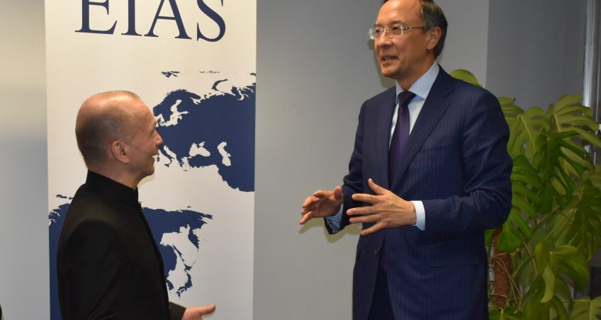 Note of Comment on Foreign Minister Kairat Abdrakhmanov's visit to Brussels and the EIAS