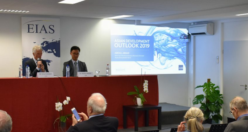 Asia Development Outlook 2019 Presentation at EIAS by Dr Abdul Abiad