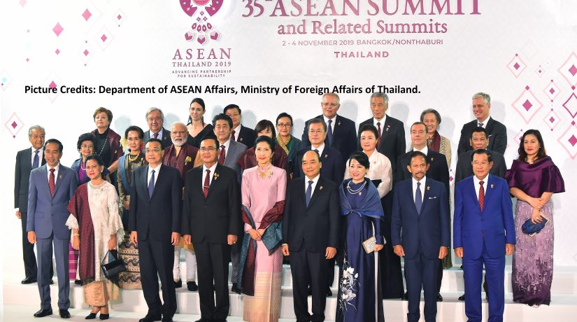 A Snapshot of the 35th ASEAN Summit: Between American Ghosts, Chinese Tacticians and Indian Protectionists.
