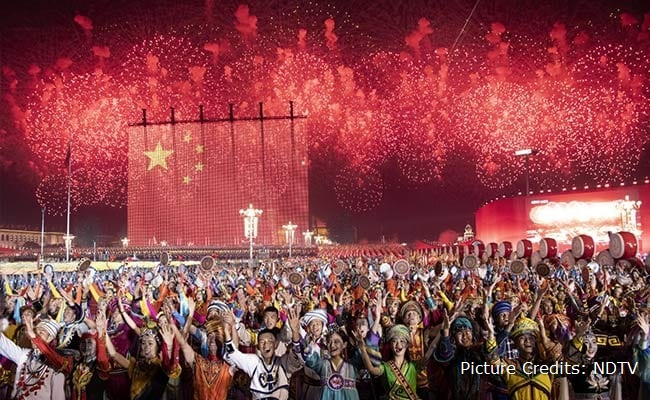 The PRC's 70th Anniversary. A Showcase Of China's Hard and Soft Power