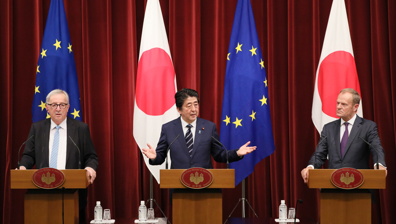 Meeting in the Middle: The EU and Japan in Central Asia