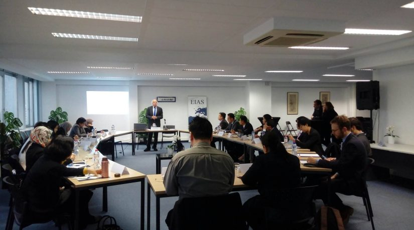 EIAS Hosts Training on Regional Integration for Visiting Delegation of ASEAN Diplomats