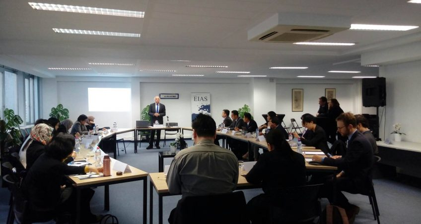 EIAS Hosts Training for Visiting Delegation of ASEAN Diplomats on Regional Integration