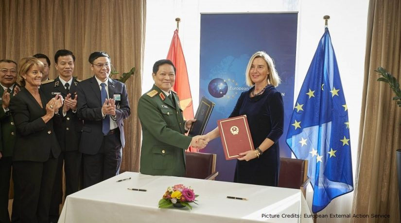 Stepping Up EU-ASEAN Security Cooperation: Signing of the EU- Viet Nam Framework Participation Agreement