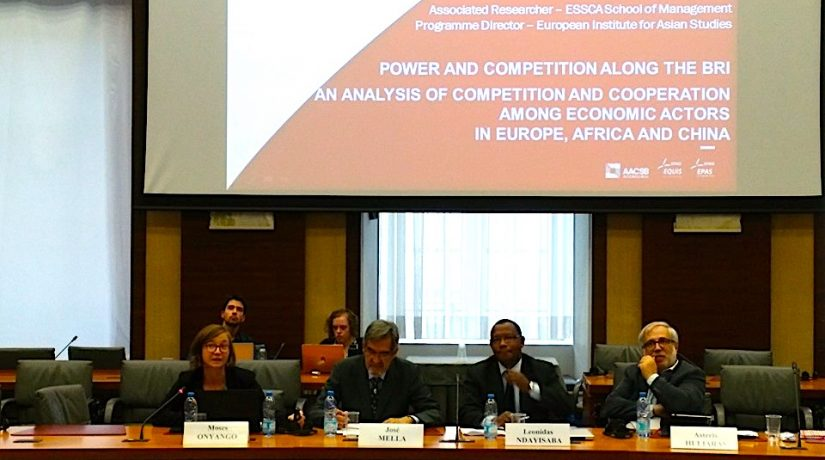 Thinking  A New Approach Towards China: Lin Goethals's Intervention At The EU-China-Africa Cooperation