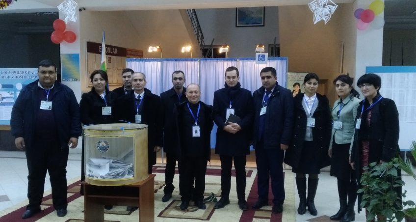 EIAS Observes Uzbekistan Parliamentary Elections