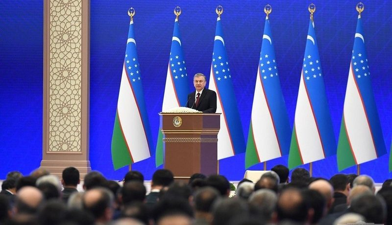 Note of Comment on the State of the Nation Speech of President Shavkat Mirziyoyev