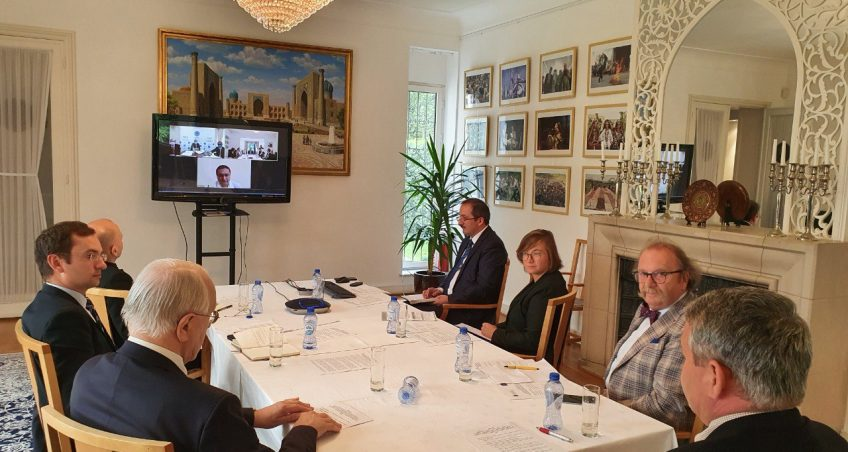 EIAS and Uzbekistan's Institute for Strategic and Regional Studies Hold Videoconference