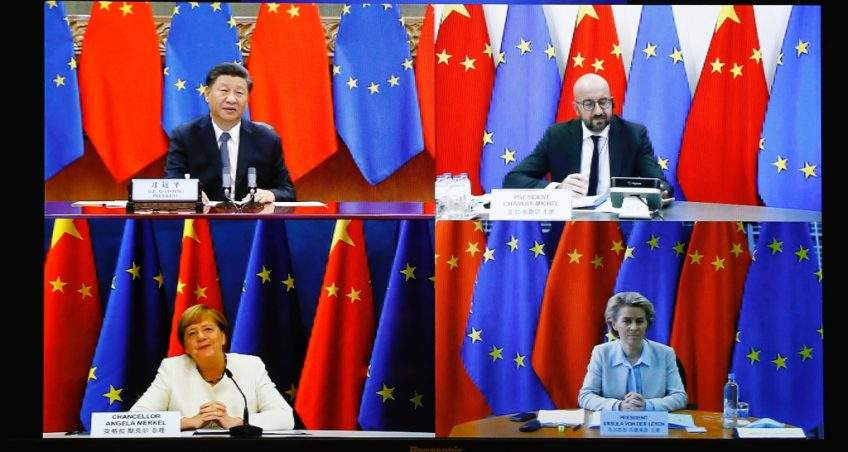 The EU-China Leader's Meeting: Virtual Inertia