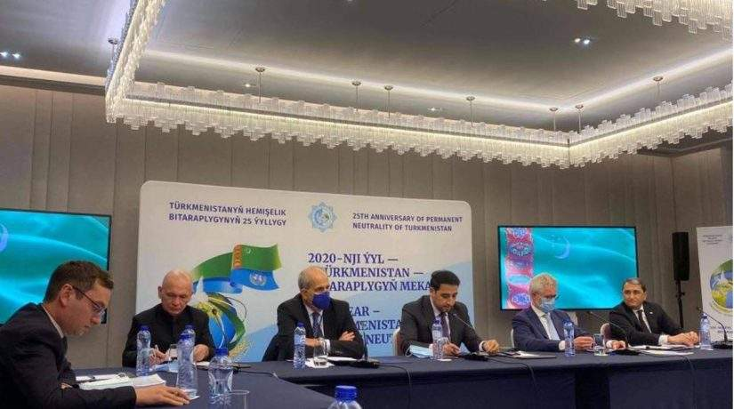EIAS Participates in Roundtable Devoted to Turkmenistan's Neutrality